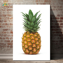 Nordic Poster Fruit Pineapple Wall Picture Canvas Art Print Decoration Home Posters and Prints for Bedroom