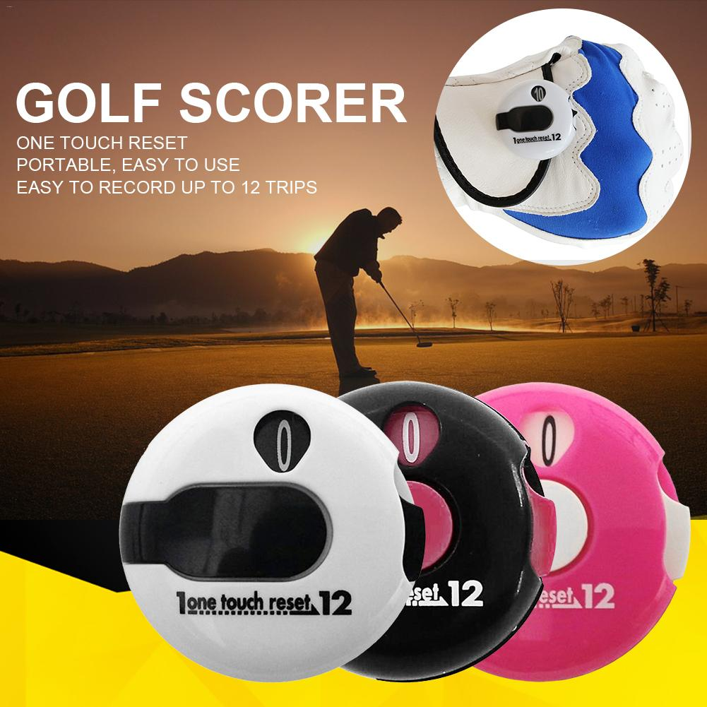1 Pcs Mini Golf Stroke Counter Scorekeeper Scoring Tool Counter Golf Score Stroke Counter Golf Accessories