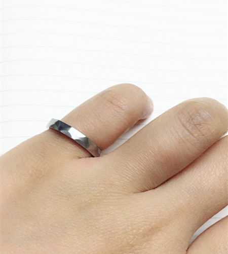 3mm new collection engineer ring for birthday gift,Custom size #5678910 Classic Canada engineering women men pinky iron rings
