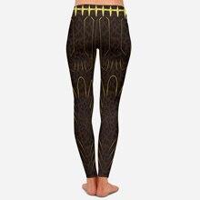 Black Panther  Women Fashion Legging 3D Avengers Printing Leggins Slim Mid Waist Woman Pants