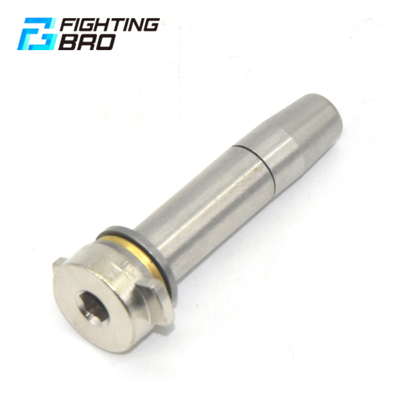 FightingBro M4 V2 Steel Spring Guide For Gel Split Blaster Gearbox Update Metal