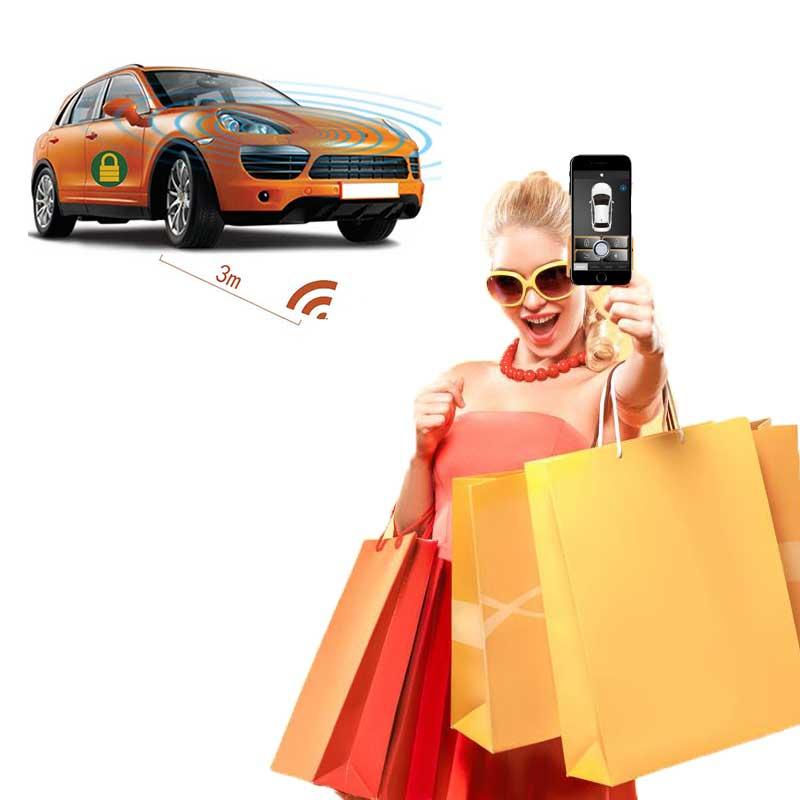 Alarme de voiture pour subaru système d'alarme de voiture avec démarrage à distance verrouillage Central système d'entrée sans clé démarrage arrêt alarma autom vil universel
