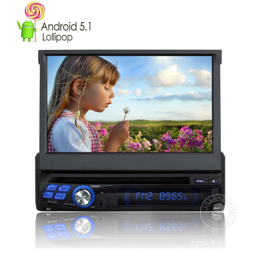 autoradio 1 din android gps quad core car radio dvd universal with microphone navigation. Black Bedroom Furniture Sets. Home Design Ideas