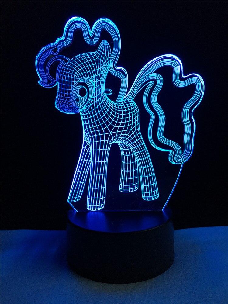 Luzes da Noite adorável licorne noite lâmpada de Suit For : Adults Kids Baby Pregnant Women All Peolple