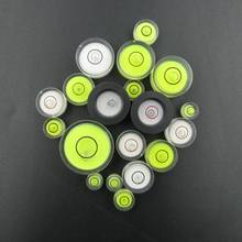 10 Pieces Lot Circular spirit level Round bubble level mini spirit level Bubble Bullseye Level