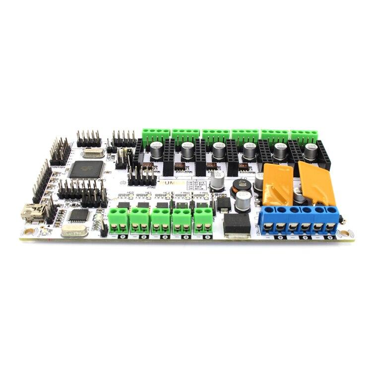 Carte de contrôle d'imprimante 3d Geeetech carte Rumba basée sur le processeur ATmega's'AVR livraison gratuite