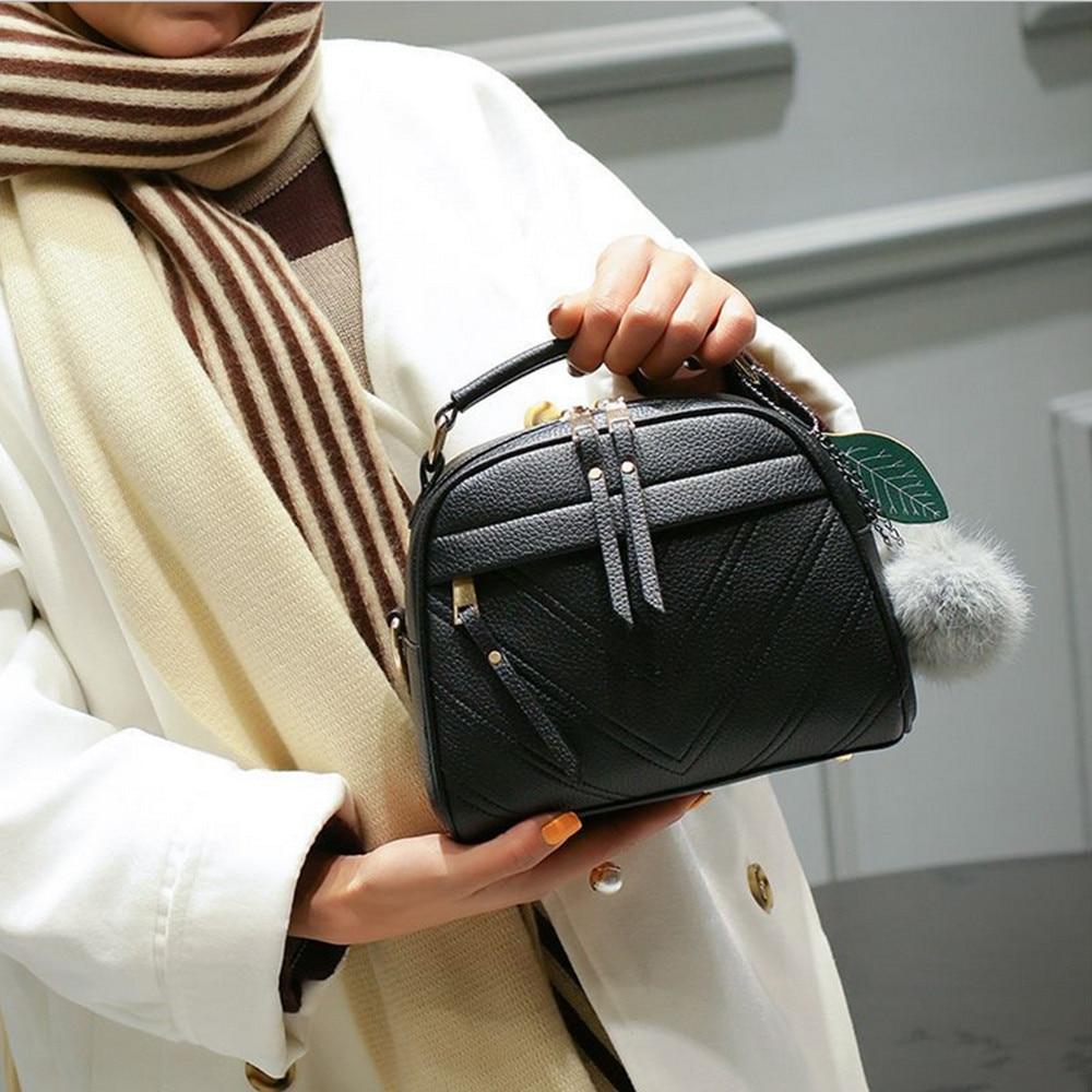 Women Messenger Bag PU Leather Shoulder Bag Saddle Crossbody Bags For Women Bolsa Feminina 1031