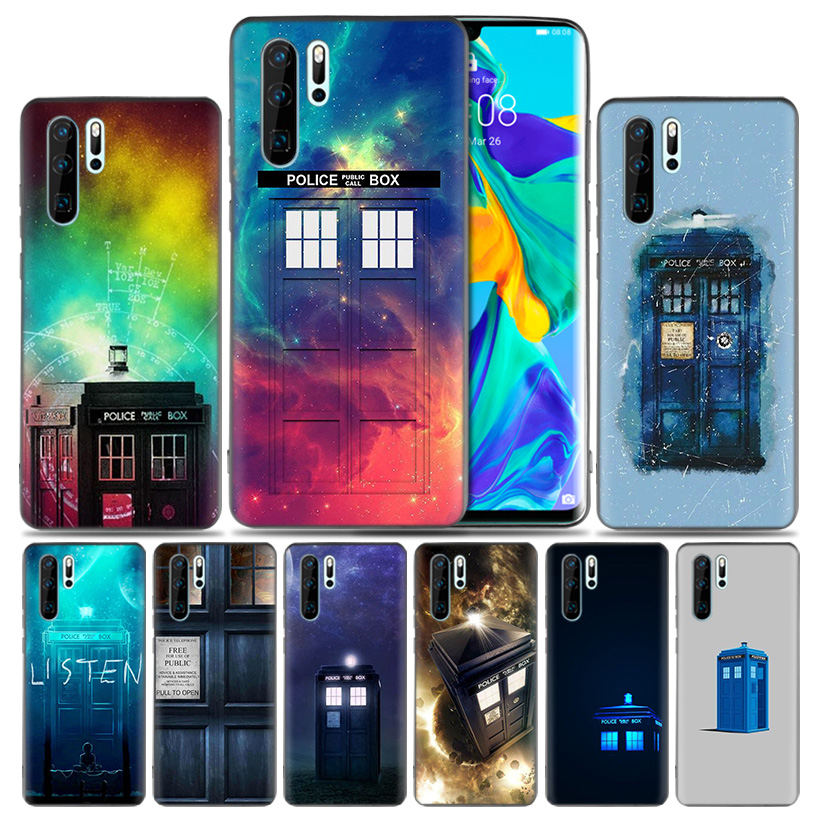 Generous Tardis Box Doctor Who Fashion Soft Rubber Case For Huawei Honor 8x 9 10 8c Mate 20 Lite Y9 Y6 Y7 Prime Pro 2019 Cover Phone Bags & Cases