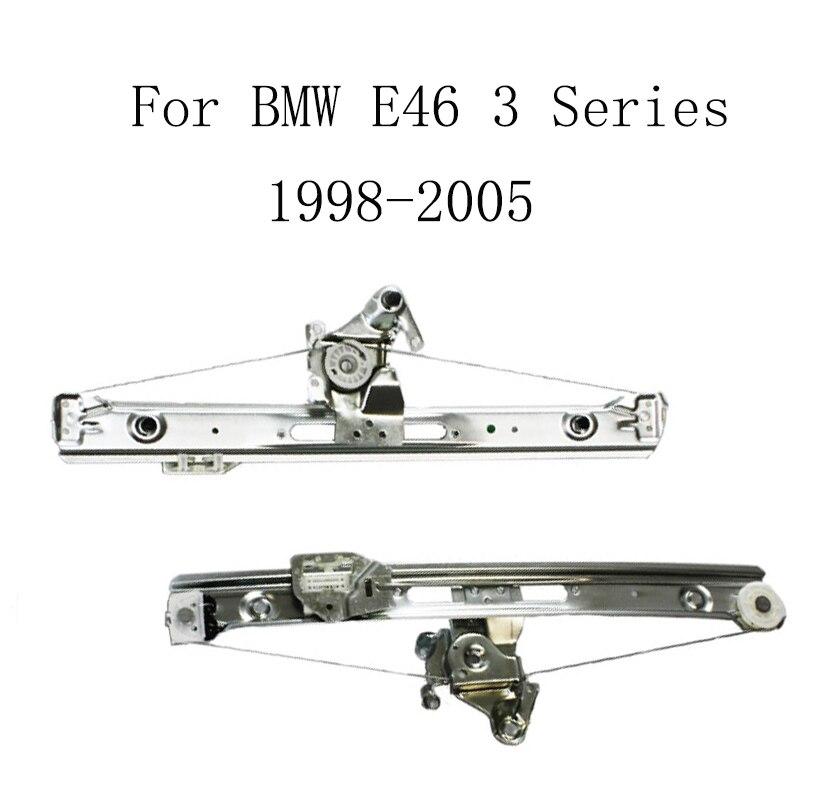 For bmw e46 3 series 1998 2005 power electric car window for 1998 bmw 528i rear window regulator