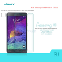 For Samsung Galaxy Note 4 Tempered Glass Screen Protector N9100 Original Nillkin Nanometer 9H Anti Explosion