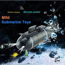 Удивительные Мини rc ядерный субмарина игрушки для детей детский подарок радио беспроводной Радио пульт дистанционного управления Летние Водные доски игрушки