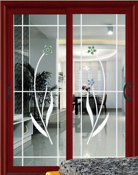 competitive price and latest grilles design casement wood window