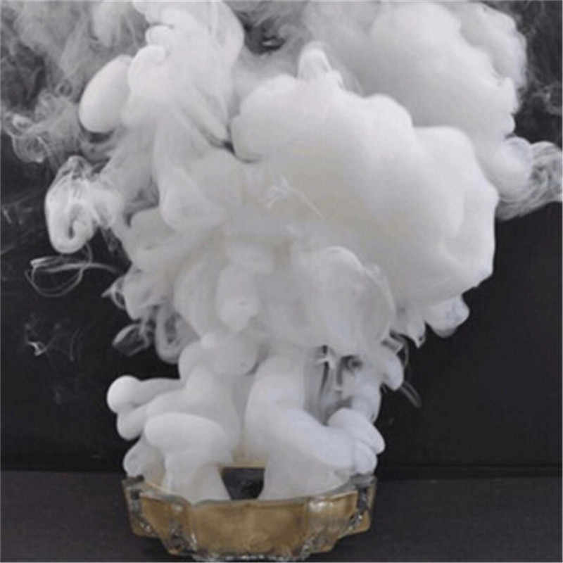 Portable White Smoke Pills Cake Halloween Props Performance White Smoke Effect Photography Magic Tricks Pyrotechnics Scene Props