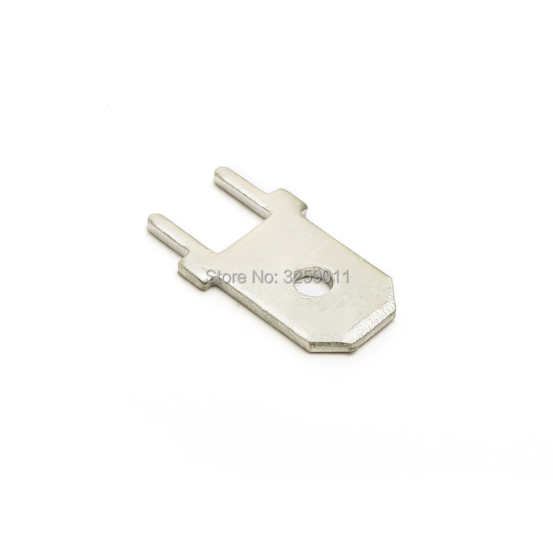 1000PCS DJ61 6.3mm Series Wire Connector Crimp Electric Lighting use for Automotive Cars With Joints Copper Junction Terminal