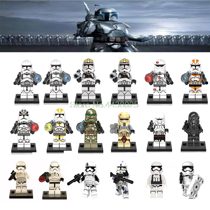 Model Building Reliable Building Blocks Pg771 Legoing Star Wars Clone Trooper Figure Imperial Army Military Stormtrooper For Kids Blocks Toys Legoings Toys & Hobbies