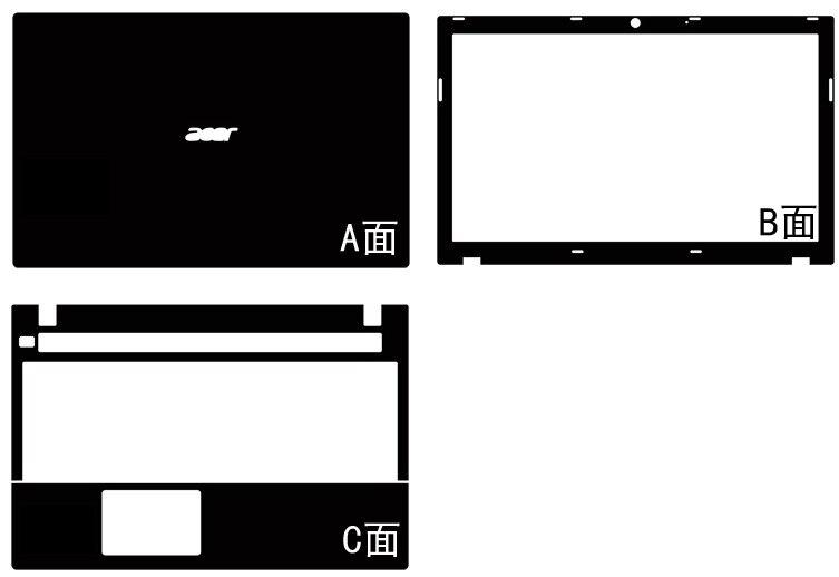 Special Leather Carbon fiber Skin Cover guard For Acer V3 551 571 551G 571G 15 6