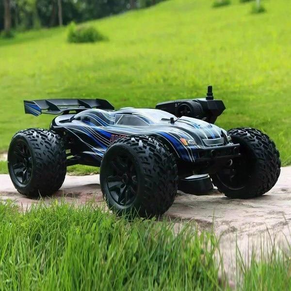 JLB Racing Cheetah 1/10 бесщеточный 80/120A RC автомобиль Monster Truck 21101 РТР обновлен 80 км/ч