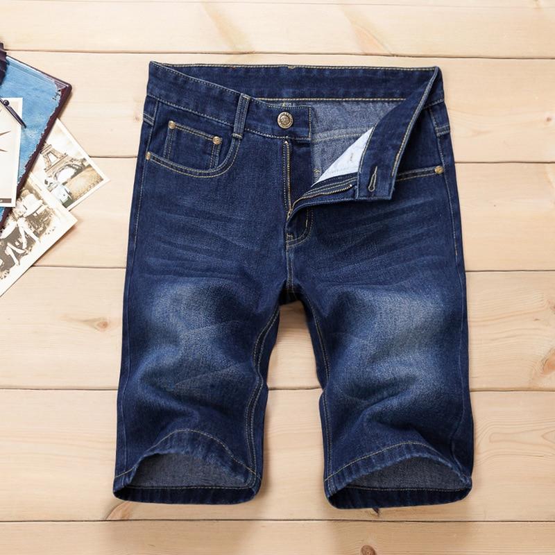 Pantallona të shkurtra xhins QINSIR pantallona xhins meshkuj, - Veshje për meshkuj - Foto 2