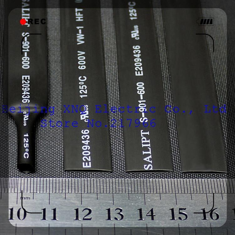 9mm Schwarz Flammschutzmittel Schrumpf Schlauch Schrumpf Schlauch Wärme Schrumpf Schlauch Rohs Ul-zertifizierung Dämmstoffe & Elemente Elektronische Zubehör & Supplies Freies Verschiffen Erfrischend Und Wohltuend FüR Die Augen