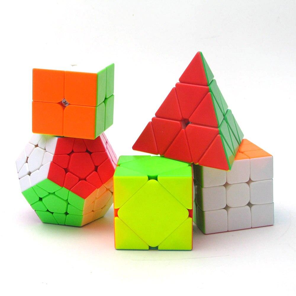 5 pcs ZCUBE 3x3x3 2x2x2 Magique Cubes Puzzle Vitesse Cube Jouets Éducatifs cadeaux pour les Enfants Enfants