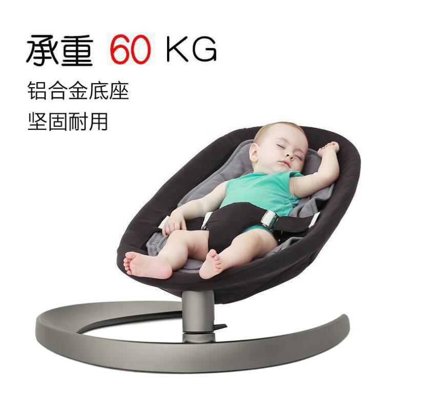 Activity & Gear Bouncers,jumpers & Swings Cheap Sale 2019 Aluminum Alloy Baby Comfort Chair Sleepy 360 Degree Rotation Newborn Baby Treasure Automatic Swing Cradle Chair