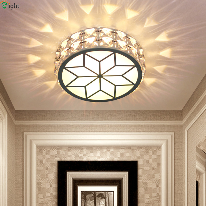 Modern Simple Acrylic Living Room Led Ceiling Chandeliers Light Lustre Crystal Dimmable Corridor Led Chandelier Lighting Fixture modern crystal chandelier hanging lighting birdcage chandeliers light for living room bedroom dining room restaurant decoration