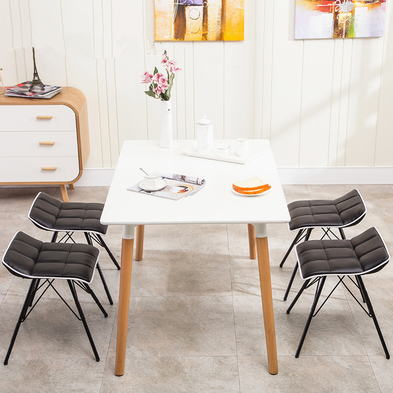 European style dining table stool simple fashion leisure for New style dining table