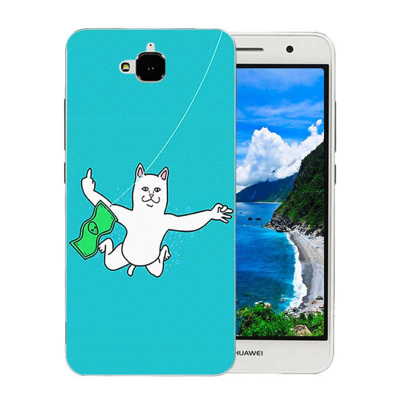 5,0 дюймовый для Huawei Y6 Pro Мягкий силиконовый чехол из ТПУ с полной защитой для телефона с рисунком Пинки для Huawei Honor 4C Pro/Enjoy5 задняя крышка