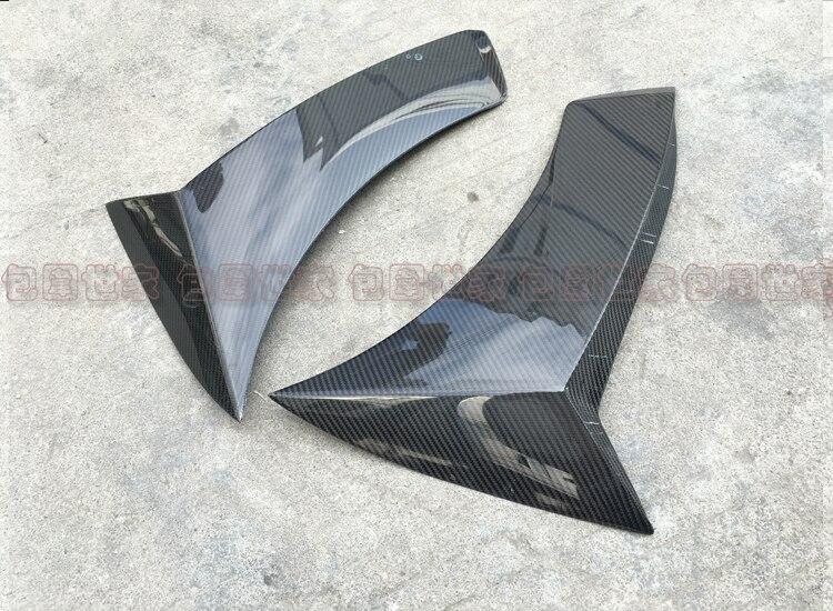 Подходит для Benz C class w205 c180L c200L C260 плавники акульих плавников AMG лист туйер углеродного волокна материал