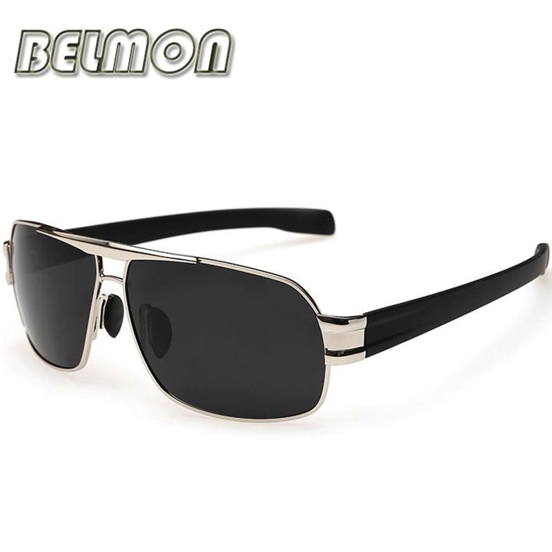 Fashion Polarized Sunglasses Men Luxury Brand Designer Sun Glasses For Male Classic Driving UV400  RS125
