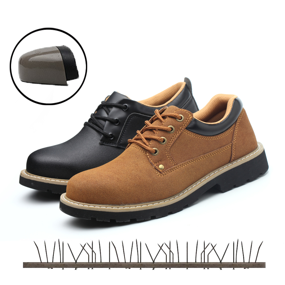 Mens Work Safety Shoes Men Outdoor Footwear Military Combat Ankle Boots Indestructible Rubber ayakkabi Woman Shoes Martin BootsMens Work Safety Shoes Men Outdoor Footwear Military Combat Ankle Boots Indestructible Rubber ayakkabi Woman Shoes Martin Boots