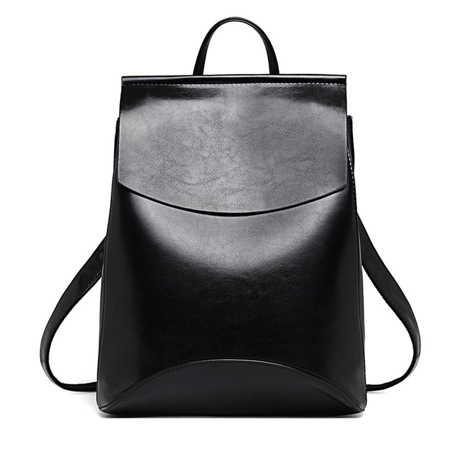 Fashion Designer High Quality Women Leather Backpack School Bags For Teenagers Girls Sac A Main Shoulder Bag Backpacks Mochilas aidoudou hot sale rivet women leather backpack fashion school bags for teenagers girls high quality ladies backpacks black