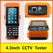 4.3inch portable cctv lcd monitor tester for K710S cctv tester
