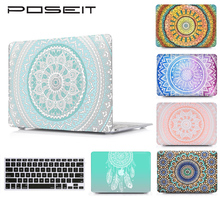 POSEIT For MAC Air13 11 Plastic Hard Cover Case new Mac Book Pro 15 Retina12 inch Laptop Shell Cover+Keyboard Protector Film