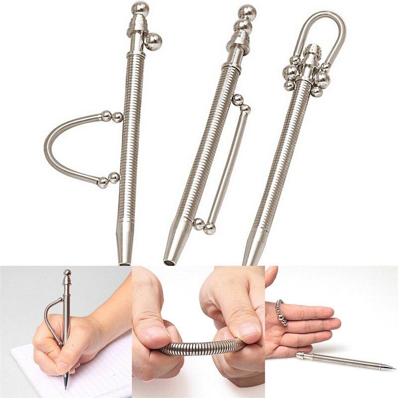 Металлическая ручка-Спиннер, магнитная ручка, Спиннер, три спиннера для аутизма и СДВГ Игрушка антистресс Спиннер
