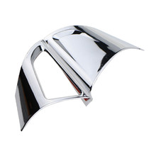 Foal Burning Car Chrome Steering Wheel Protective Cover Trim Car Sticker for Chevrolet Cruze Sedan Hatchback 2009 - 2015 Trax(China)