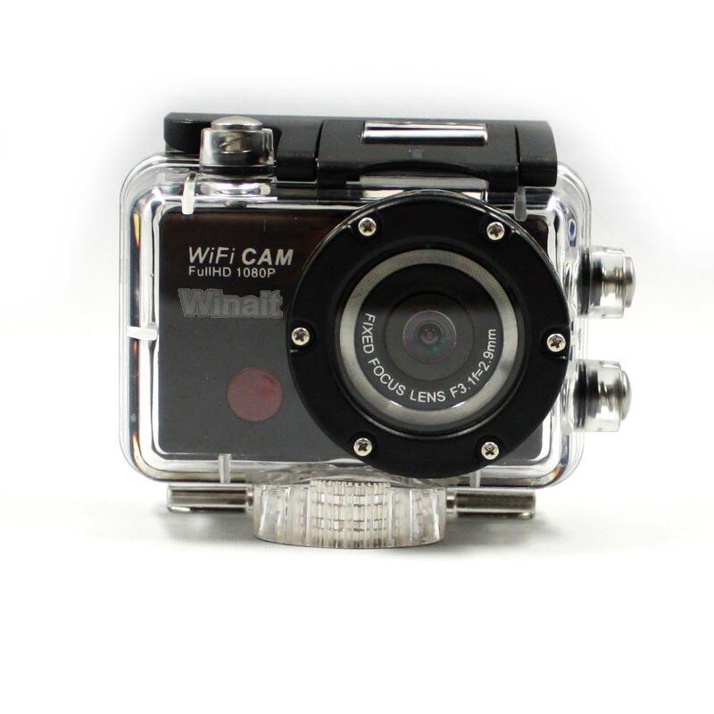 Winait full hd 1080 p wifi caméra d'action étanche sport caméra vidéo numérique mini DVR livraison gratuite