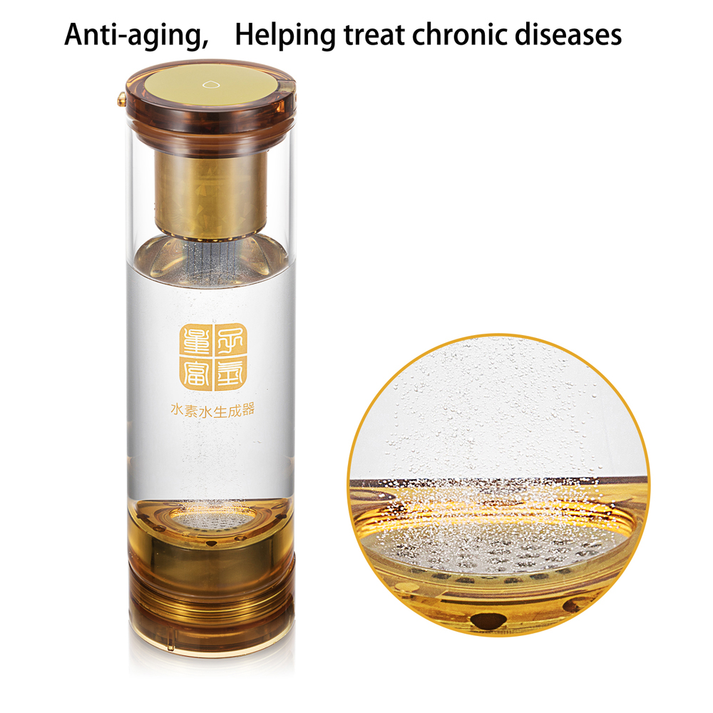 High H2 content Hydrogen Rich water cup and Molecular Resonance Effect Technology MRETOH Two-in-one Treating chronic diseases