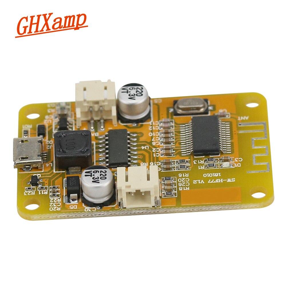 Circuito Bluetooth Casero : Ghxamp mono 6 w amplificador bluetooth audio receptor digital usb 5