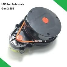 새로운 오리지널 로봇 진공 청소기 예비 부품 레이저 거리 센서 LDS XIAOMI Roborock S55 Gen 2 Dark Grey