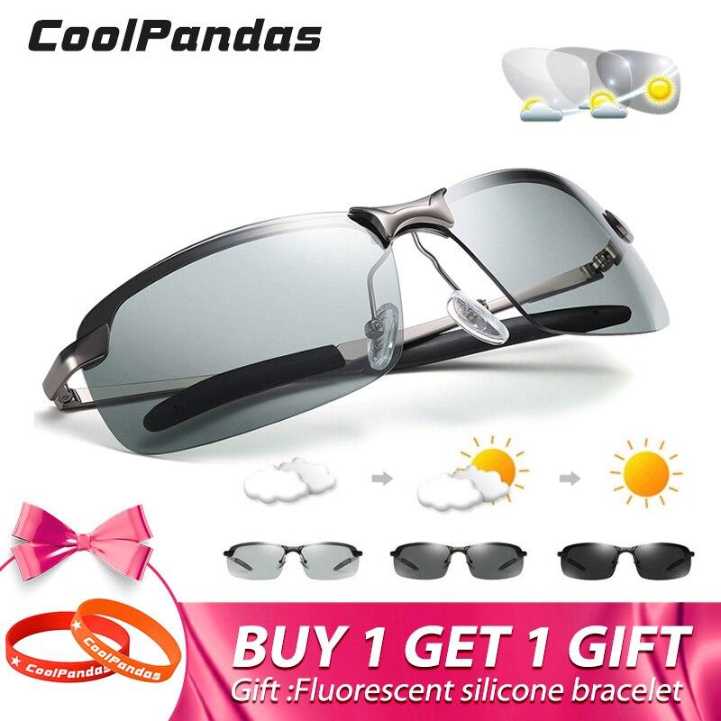 2019 Neue Männer Der Photochrome Polarisierte Sonnenbrille Anti-uv Fahren Brillen Für Männer Frauen Treiber Uv400 Sonne Gläser Männlichen Brillen