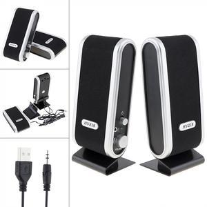 Black HY-218 6W USB2.0 Wired U