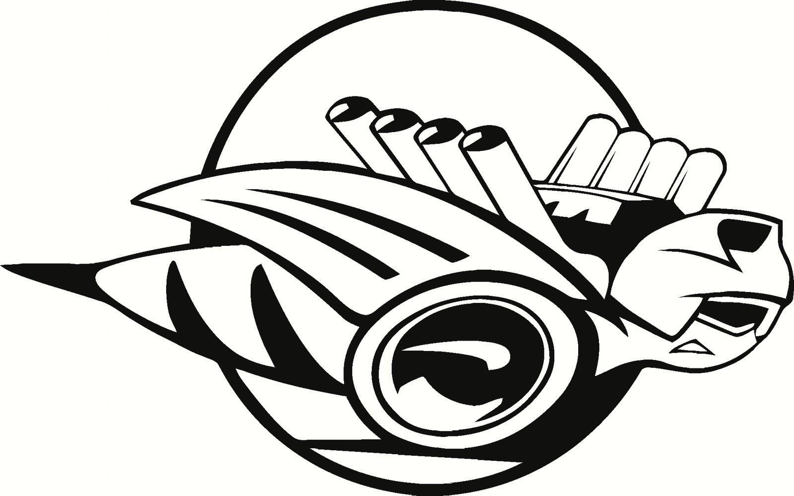 Car Styling For Rumble Bee Dodge Vinyl Decal Window Or