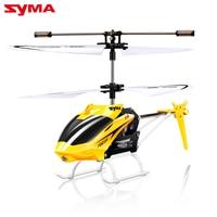 W25 2 Canal Syma Mini RC Helicopter Indoor profissional de Controle Remoto Shatter Resistente RC Zangão Aeronave RC Toy Presente Do Miúdo