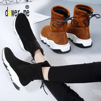 Winter Woman Running Shoes Free Run High Top Sneakers Women Boots Breathable Soft Barefoot Shoes Walking