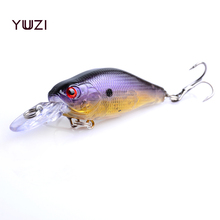 YUZI 1PCS Wobbler Crank fishing Lure Peche Artificial Bait 7cm 9g Crankbait Float Minow Boat Tackle