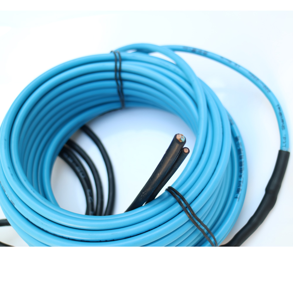 500W 27M Single Conductor Floor Heaing Cable For Batroom Heating System, Wholesale-HC500S