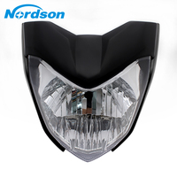 Nordson 12V Motorcycle Head Light Universal Rracing Headlamp Motorcycle Headlight LED Accessories for Yamaha FZ16