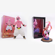 2 styles Anime Dragon Ball Z Majin Buu Boo PVC Action Figure Doll Collectible Model Toy Christmas Gift For Children