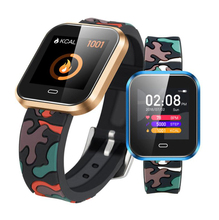 CD16 smart watch large color screen multi-motion mode bracelet heart rate blood pressure oxygen music control